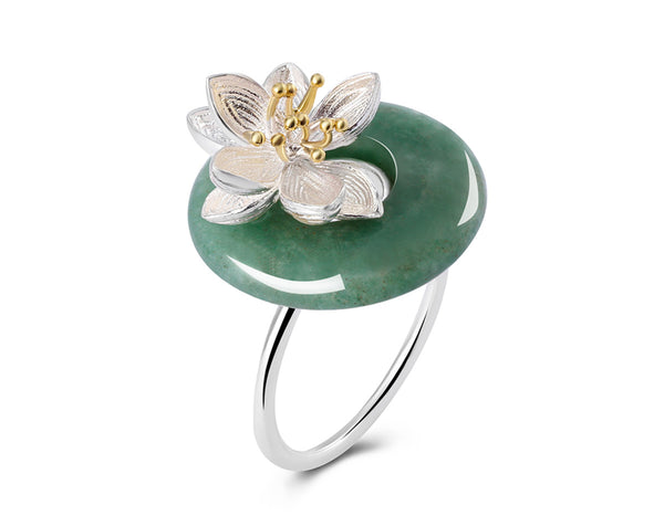 Lotus Whispers Ring - Lotus Fun