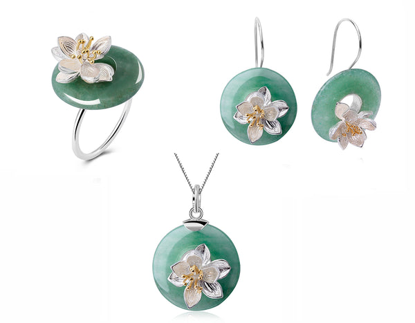 Lotus Whisper Jewelry Set - Lotus Fun