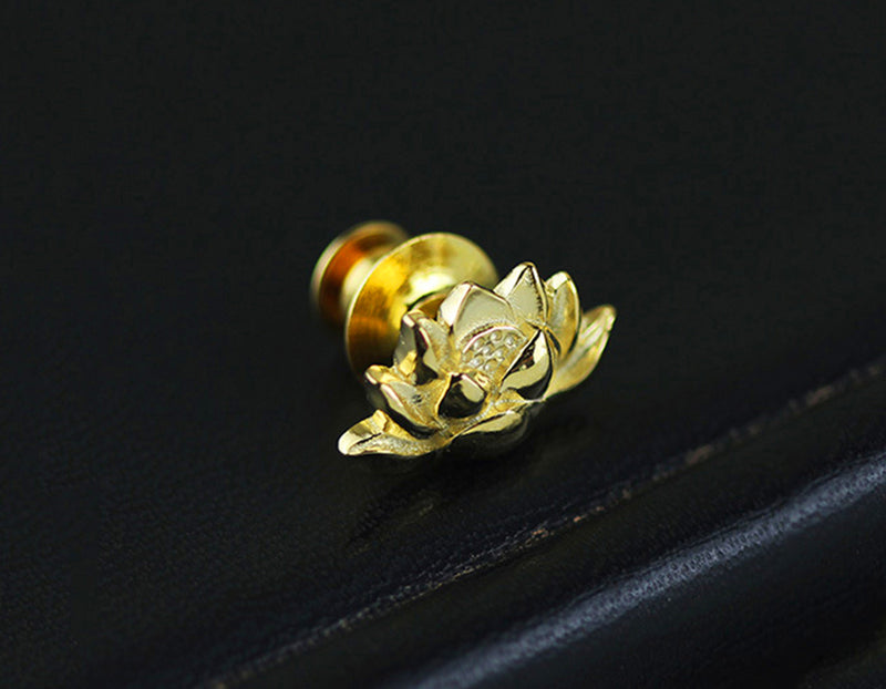 Lotus Symbol Brooch - Lotus Fun