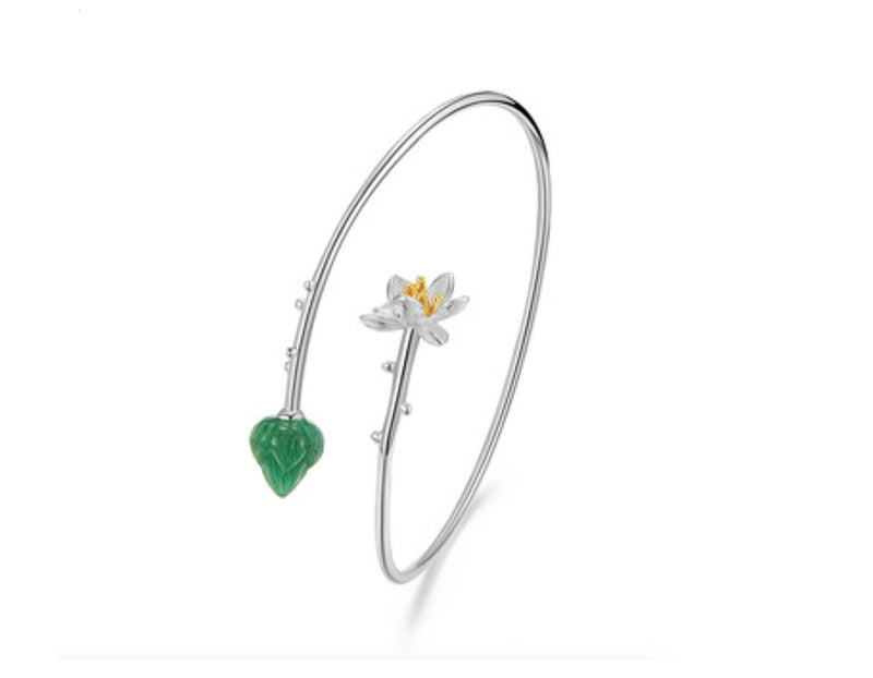 Lotus Whispers Bangle