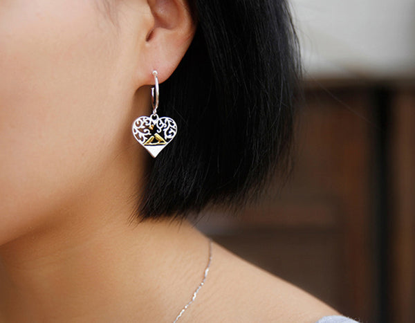 Lovebirds Earring