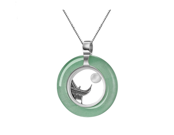 Oriental Element Moonlight Pendant