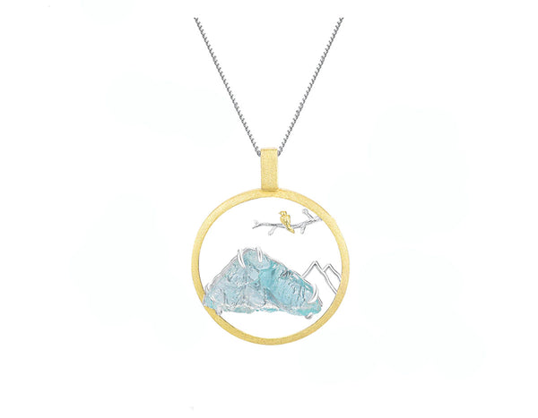 Blue Mountain Pendant