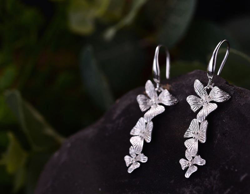 Wedding Orchids Earring - Lotus Fun