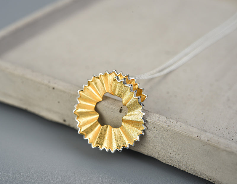 Pencil Shavings Pendant