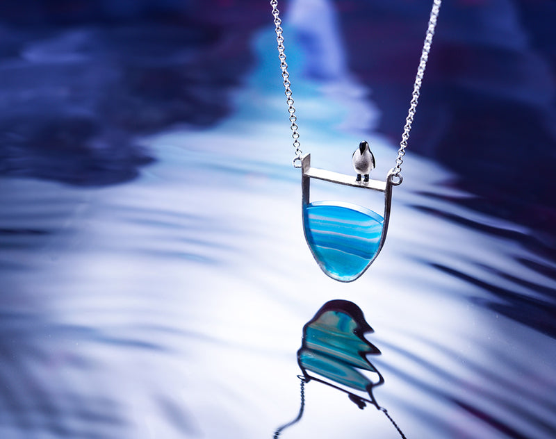 Lovely Penguin Necklace - Lotus Fun
