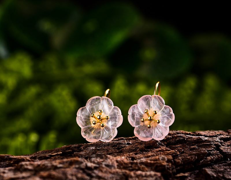 Flower in the Rain Earring