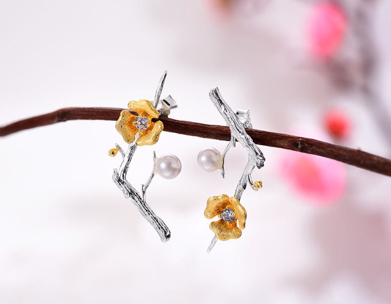Plum Blossom Stud - Lotus Fun