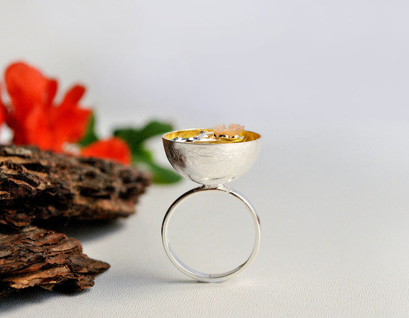 Plum Blossom Ring - Lotus Fun