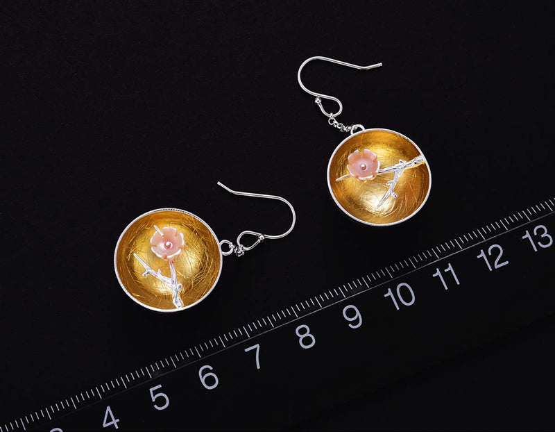 Plum Blossom Earring - Lotus Fun