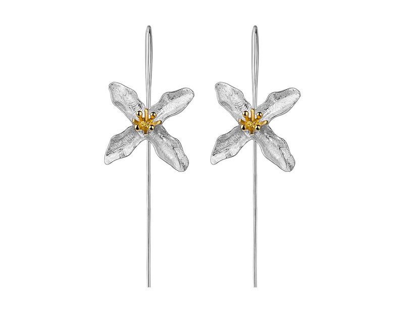 Poetic Clover Earring - Lotus Fun