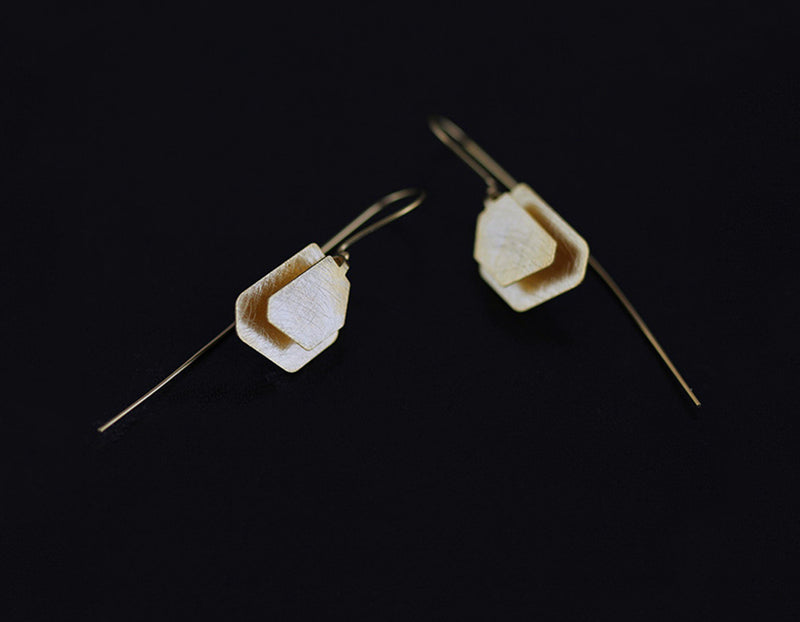 Irregular Polygon Earring