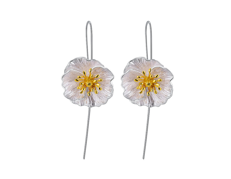 Blooming Poppies Earring