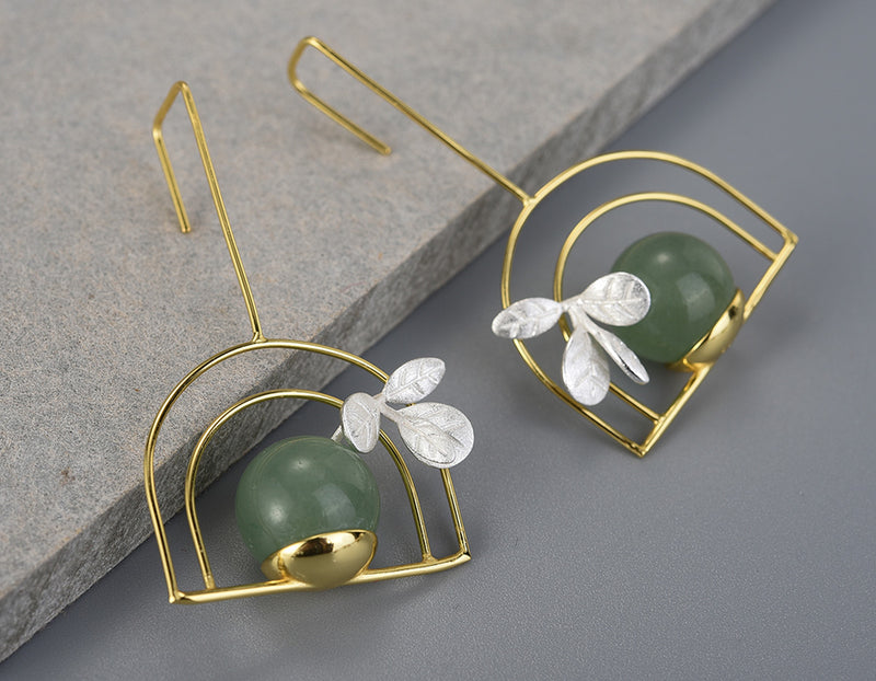 Potted Plant Earrings
