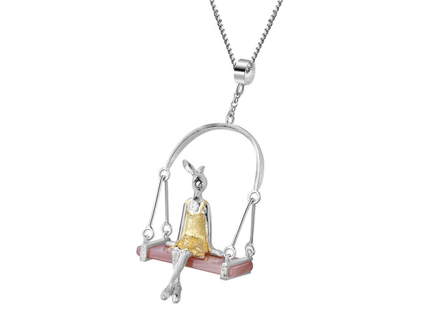 Miss Rabbit Pendant - Lotus Fun