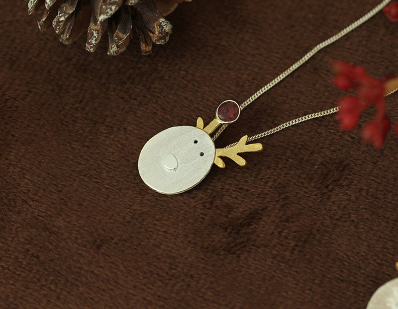 Christmas Reindeer Pendant - Lotus Fun