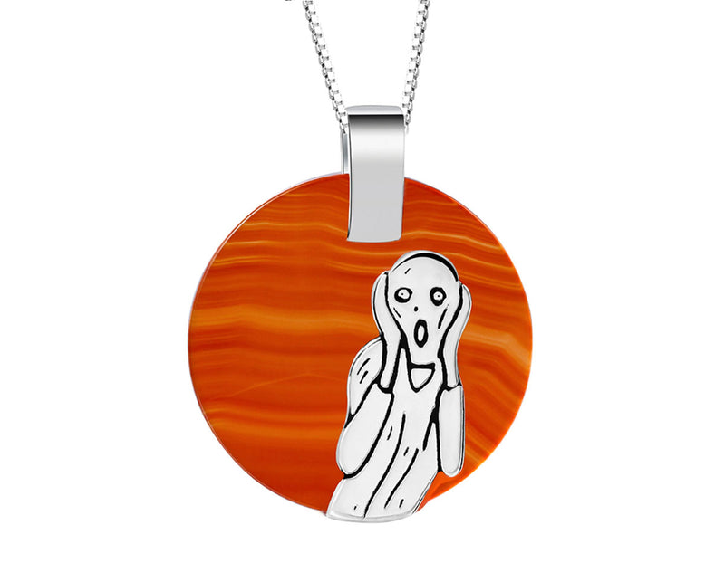 Scream for Me Pendant - Lotus Fun