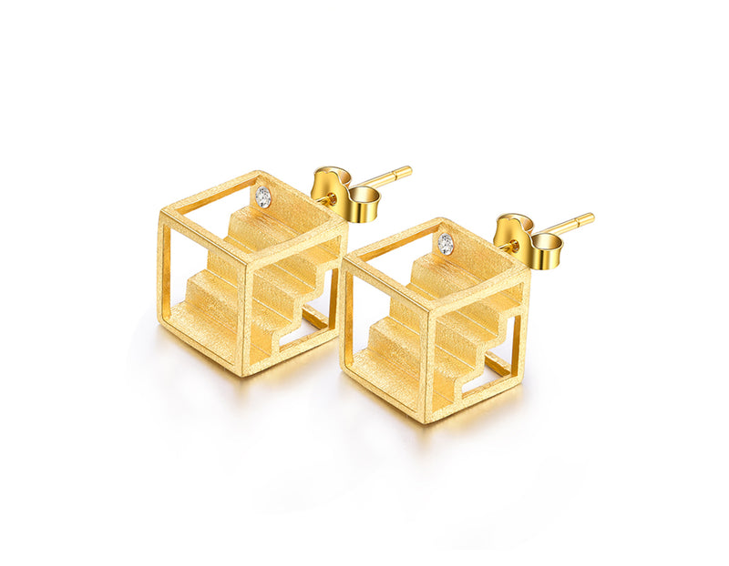 Creative Stairs Earrings