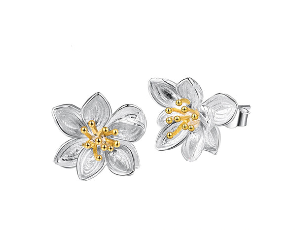 Lotus Fun Whispers Stud Earring