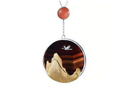 Sunset Mountain Pendant