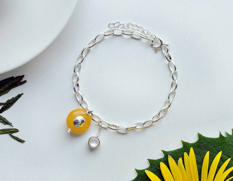 Teapot Bracelet - Lotus Fun