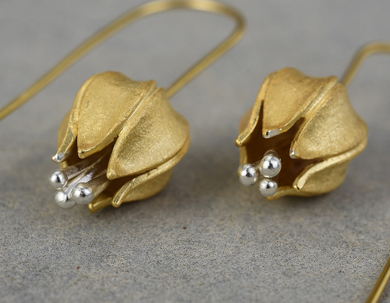 Tulip Flower Earring