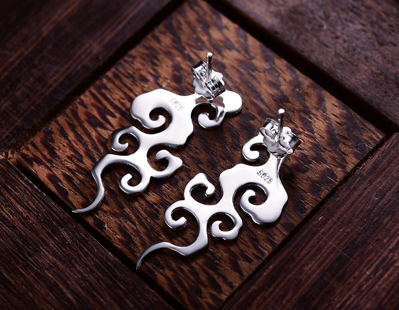 Vintage Cloud Earring