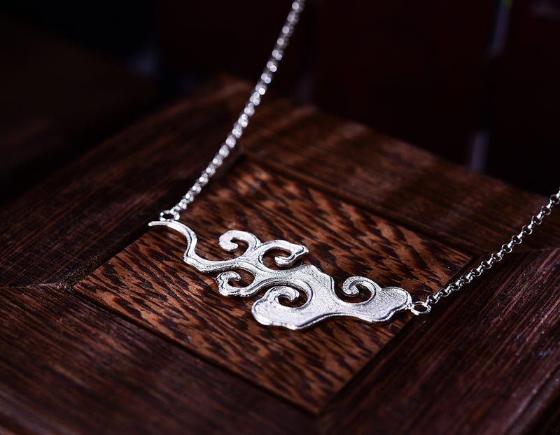 Vintage Cloud Necklace