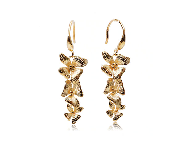 Wedding Orchid Earring