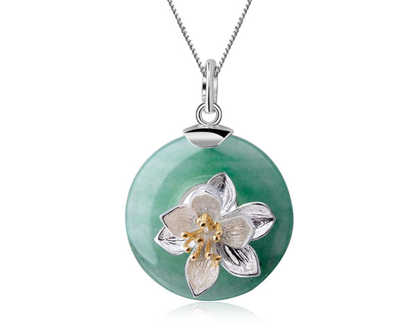 Lotus Whispers Pendant - Lotus Fun