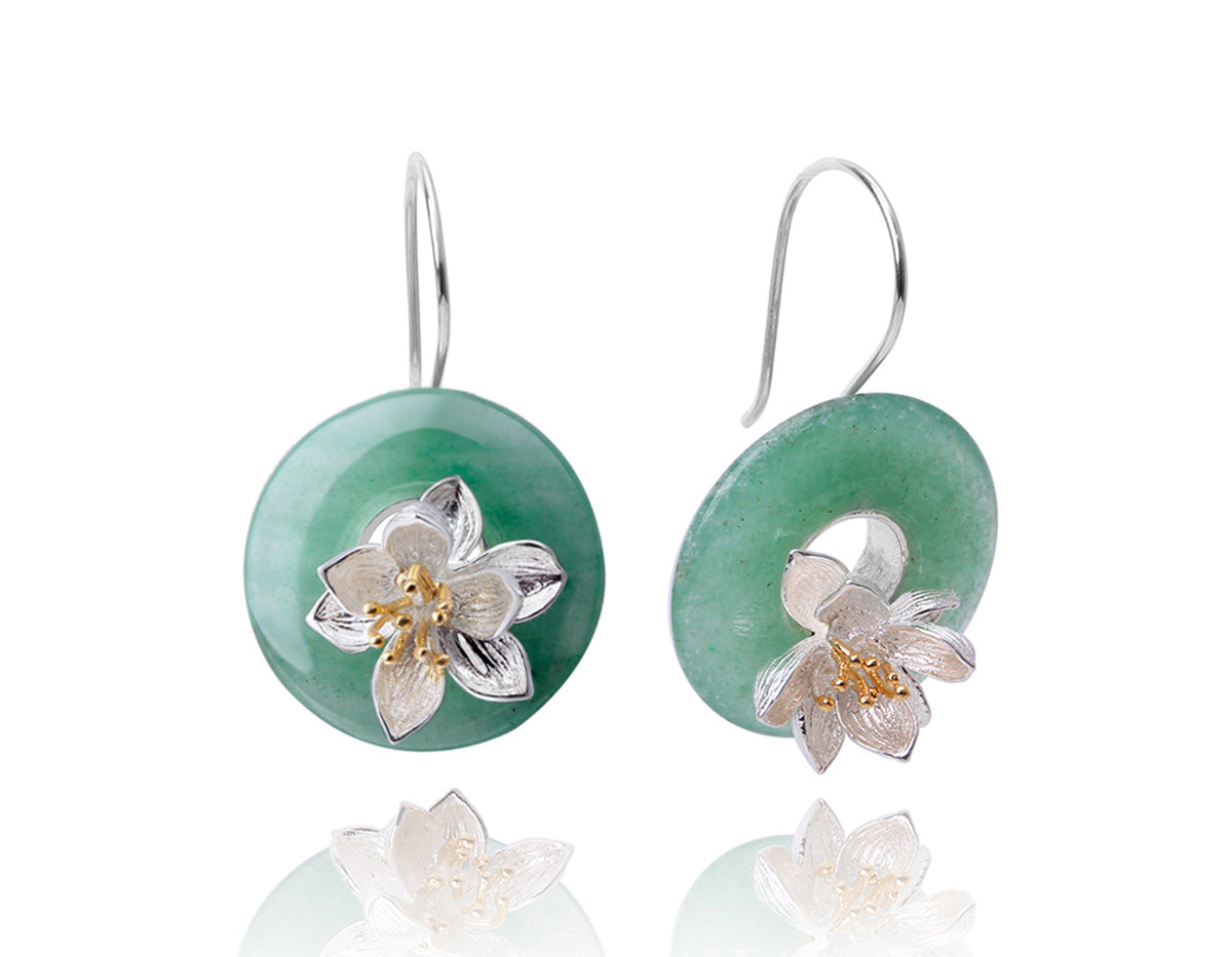 Lotus Whispers Earring
