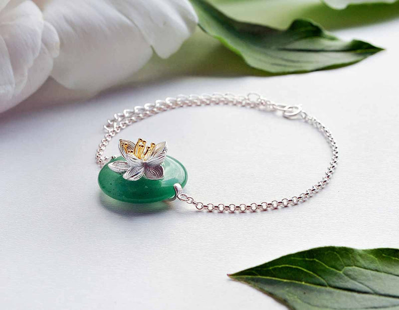 Lotus Whispers Bracelet - Lotus Fun