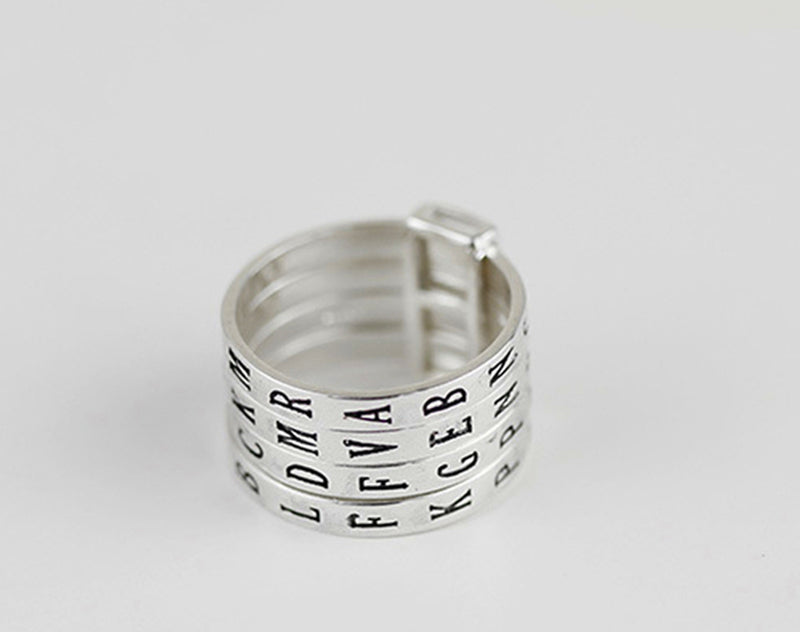 Lovely Words Ring - Lotus Fun