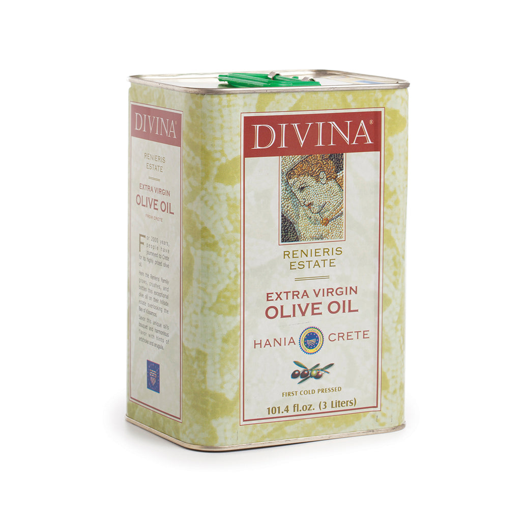 Divina Renieris Estate Extra Virgin Olive Oil, 3 ltr