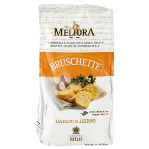 Meliora Garlic Herb Bruschette, 5.3 oz. (Case of 10)