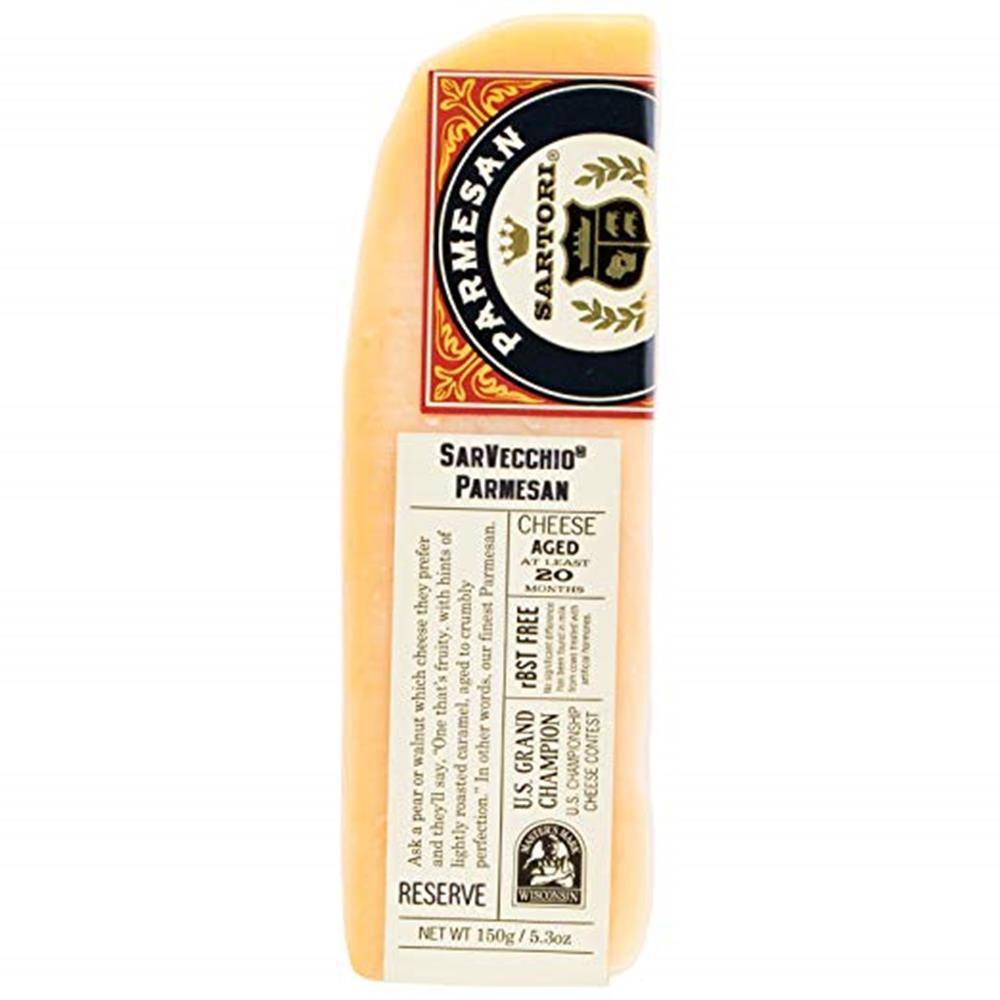 Sartori Sarvecchio Parmesan Wedge, 5.3 Oz (Pack of 3)