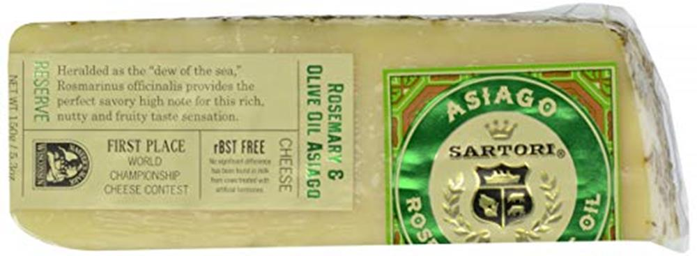 Sartori Rosemary Asiago, 5.3 Oz (Pack of 3)