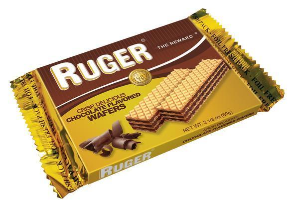 Ruger Austrian Chocolate Wafers, 2.125 oz.
