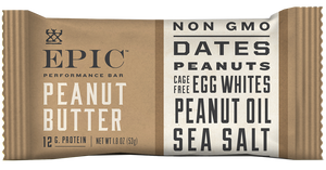 Epic Performance Peanut Butter Bar, 1.87 oz. (Pack of 9)