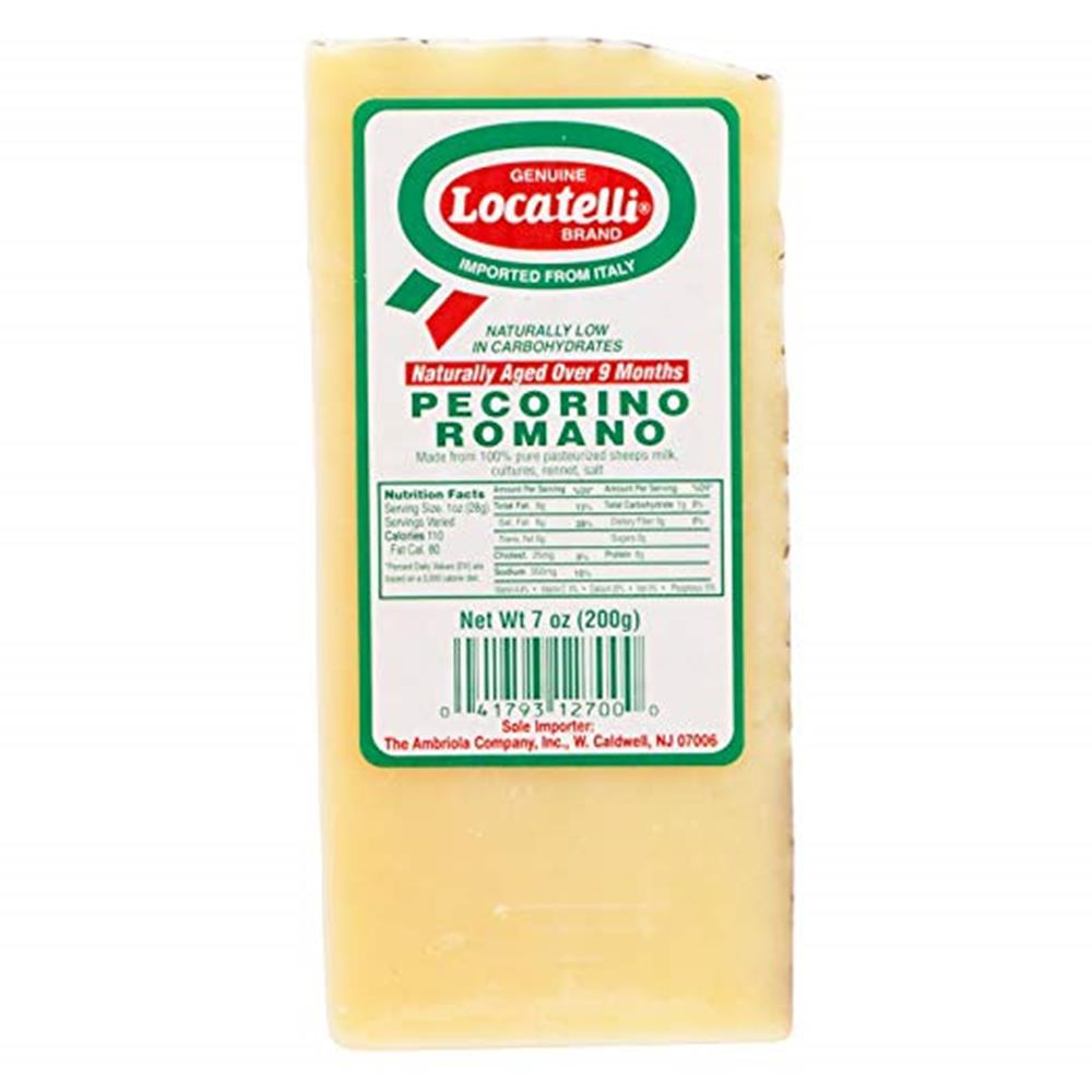 Locatelli Pecorino Romano Wedge, 7 Oz (Pack of 3)