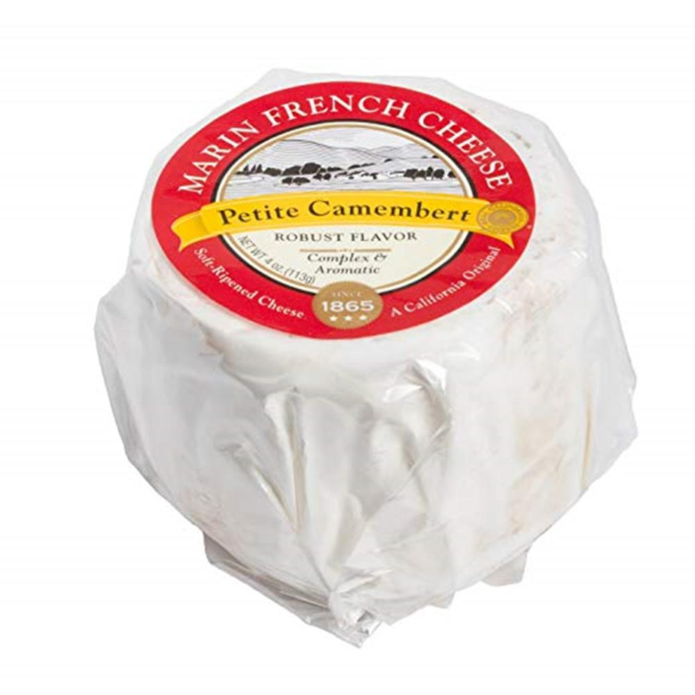 Marin French Petite Camembert, 4 Oz (Pack of 3)