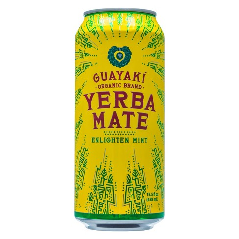 Guayaki Yerba Mate, Enlighten Mint -16 oz. (Case of 12)