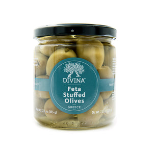Divina Feta Stuffed Olives, 7.7 oz.