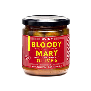 Divina Bloody Mary Olives, 6.7 Oz. (Case of 6)