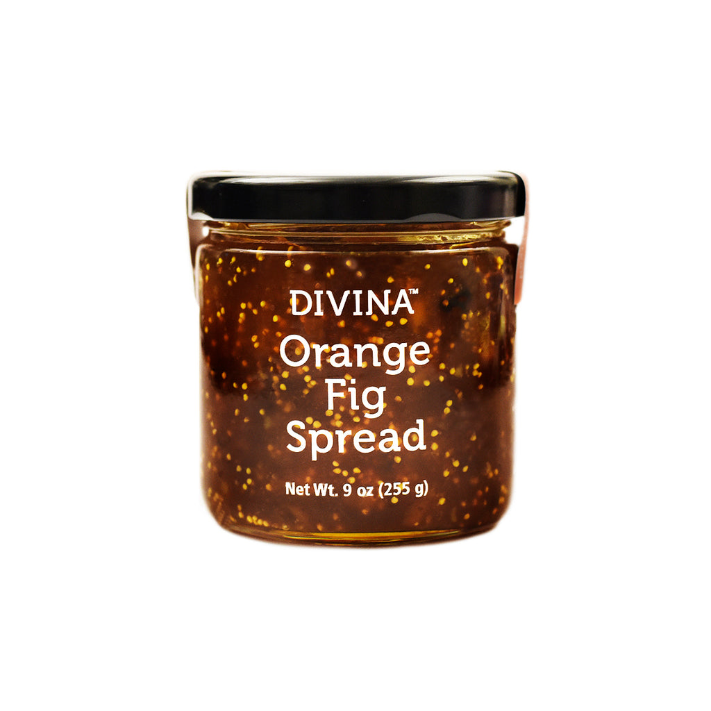 Divina Orange Fig Spread, 9 oz. (Case of 12)