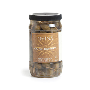 Divina Caperberries, 32 oz.