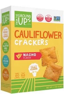 Cauliflower Nacho Crackers, 4 oz. (Case of 6)