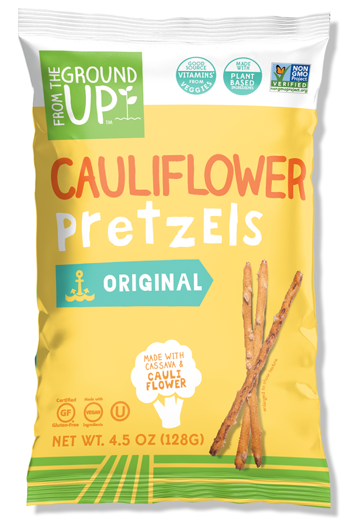 Cauliflower Pretzel Sticks, 4.5 oz. (Case of 12)