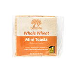 Divina Whole Wheat Mini Toasts, 2.8 oz. (Case of 24)