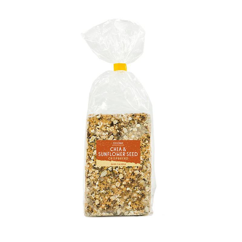 Divina Chia & Sunflower Seed Crisbread, 7 oz. (Case of 14)